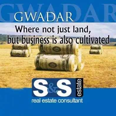 Gwadar Commercial Plot 1000 Square Yard on Airport Road Available.