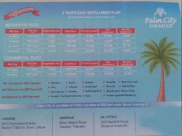 Palm City Gwadar (Living beyond imagination)