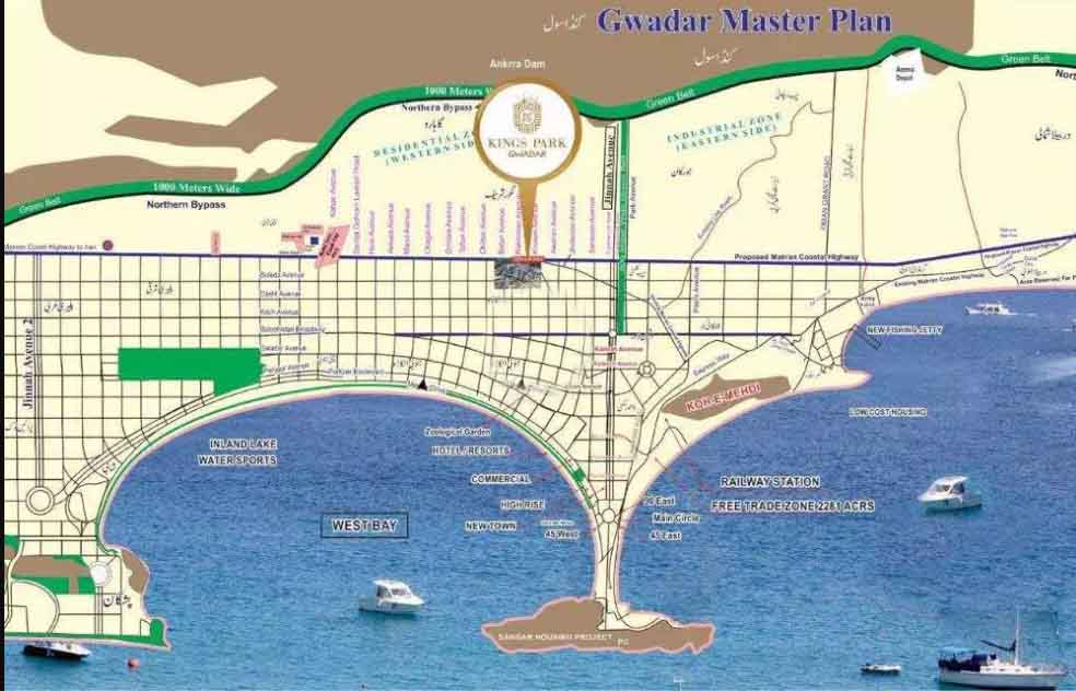 Kings Park | Gwadar | Files and Plots | Available on Easy Installments
