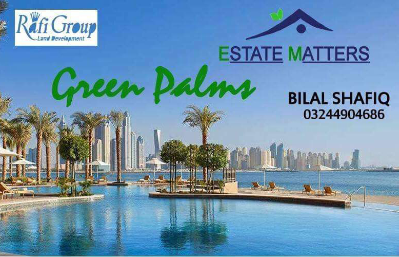 4 Marla Commercial 5 Marla Residential Rafi Green Palm Secure Investment