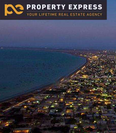 5 Marla Plot on Installments In Palm City Gwadar near Marine Drive
