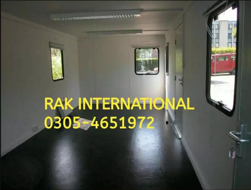 Container Office Ready With Luxury Setup Available All in Pakistan