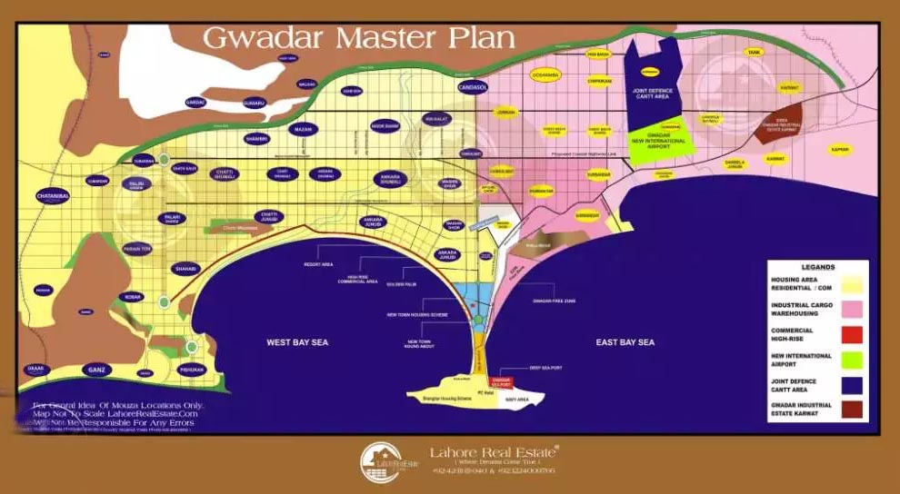 Commercial plot in creek City Phase 1 Gwadar