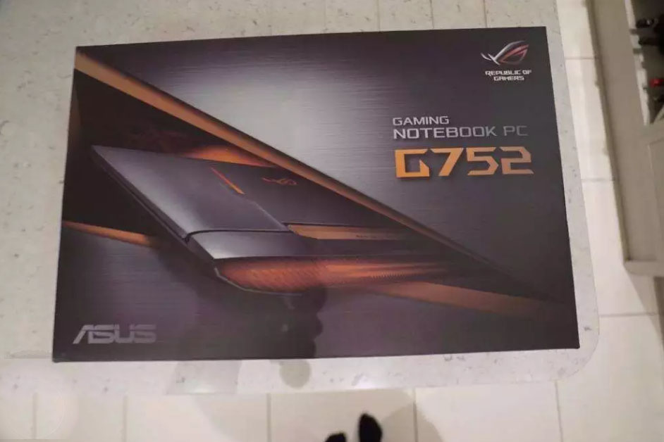 Brand new Asus ROG G752VY Gaming laptop