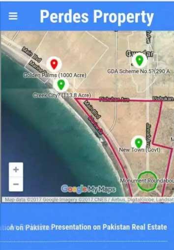Gwadar creek city phase 1 commercial plot
