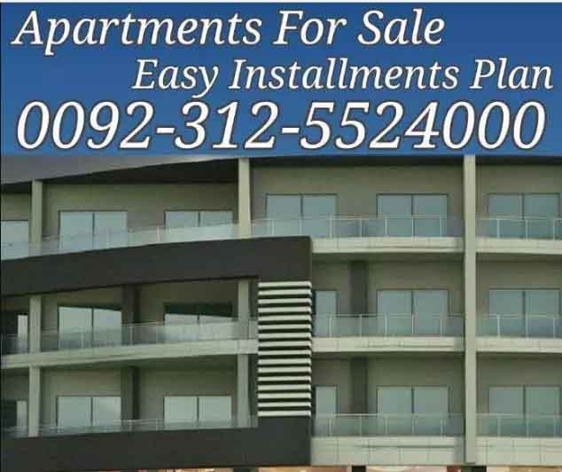 Bahria town islamabad – – – investor rate 1 bed apartments