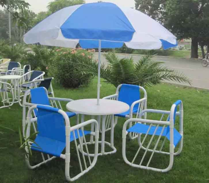 Upvc Chairs Outdoor Garden Set
