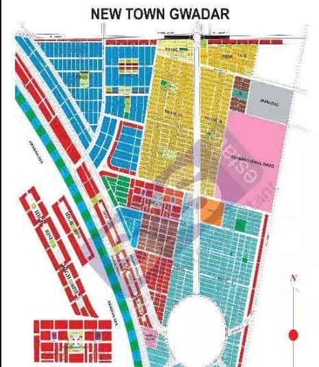 Gwadar New town 222 Sqy in DE Commercial Plot Marine Dr available