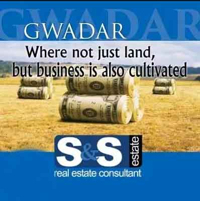 SNS Offer Gwadar New Town Phase 1 facing monument 1000 sqy plot.