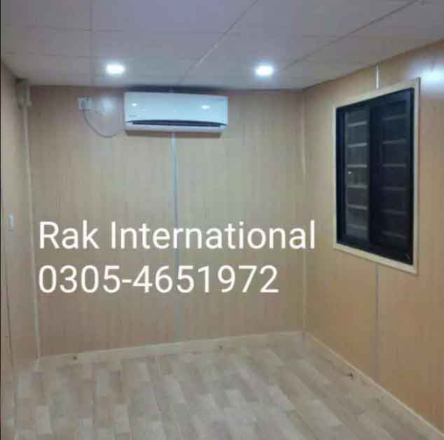 We Provide Office Container, Porta Cabin, Steel Building, size 8 x 20,