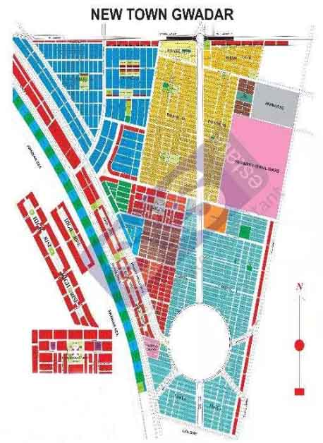SNS Offer Gwadar New Town 222 Sqy Commercial Zone area Plot