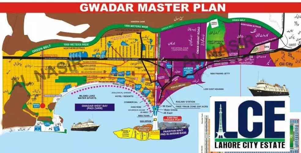 Gwadar Industrial Kanal 3lac