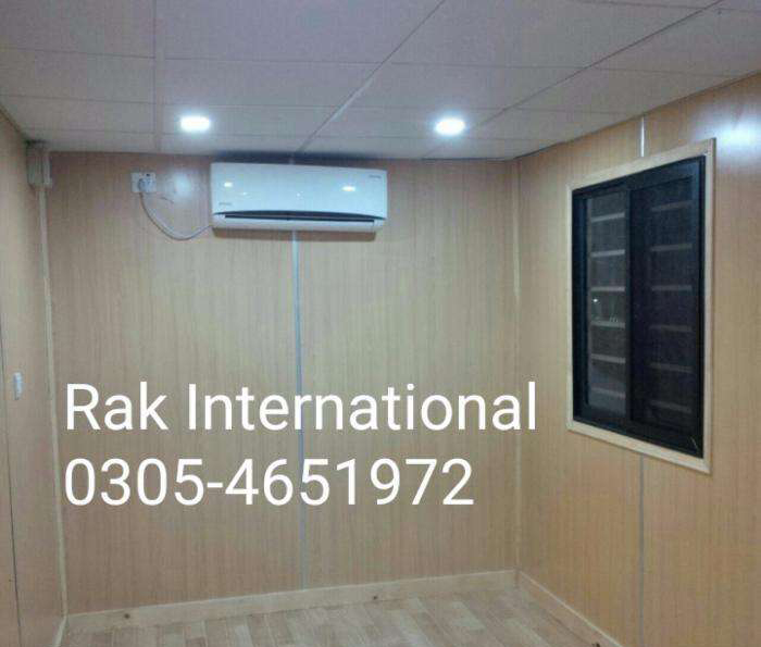 We Provide Office Container, Porta Cabin, Steel Building