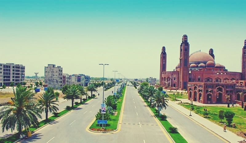 10 Marla Plot For Sale In Tauheed Block  Bahria Town Lahore