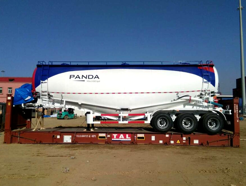 China PANDA brand bulk cement trailer 30Ton-85Ton