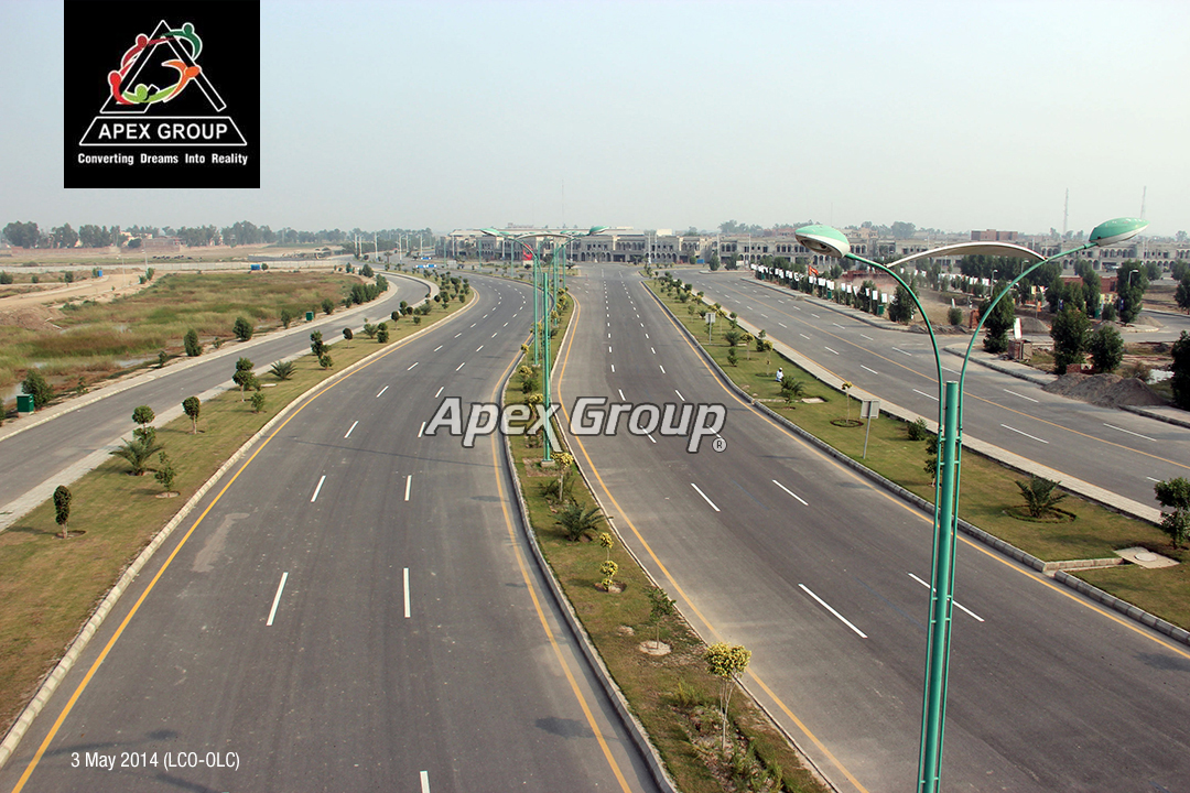 10 Marla Plot For Sale Bahria Town Overseas Extension In Lahore