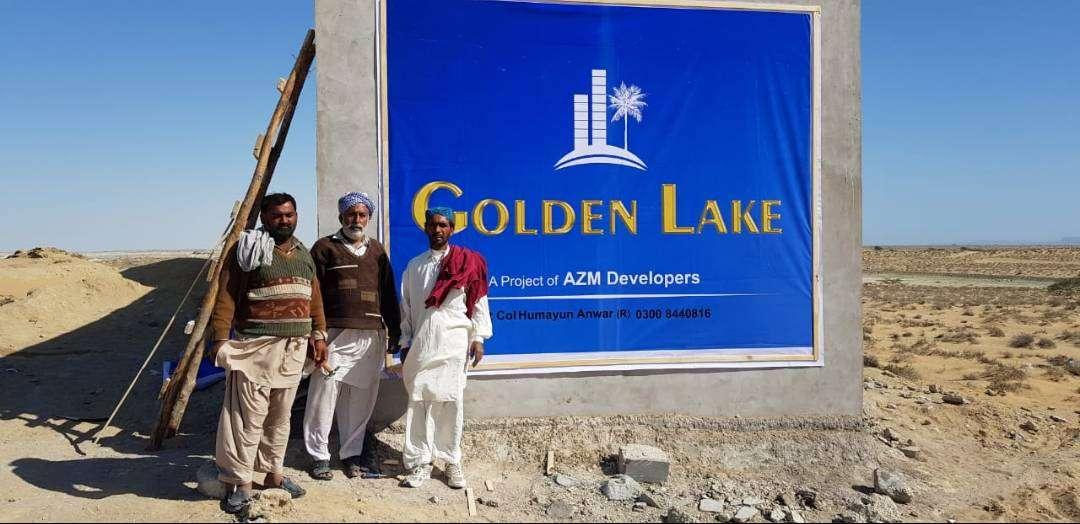 5 Marla Residential Plot For Sale Golden lake gwadar